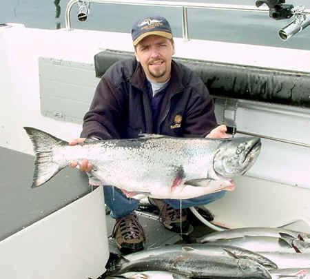 A very nice king Salmon.