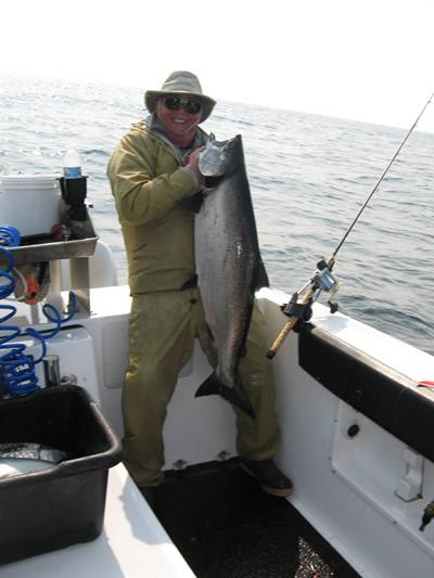 Don Hunter 40lb King Salmon
