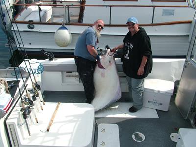 Morrie and Barb - Alaska Fishing