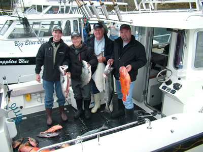 Big Blue Fishing Charters - Cronin party . . a good day on the water