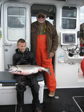 Salmon Fishing Alaska AJ Scott
