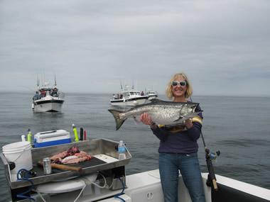 Salmon Fishing Sitka Alaska
