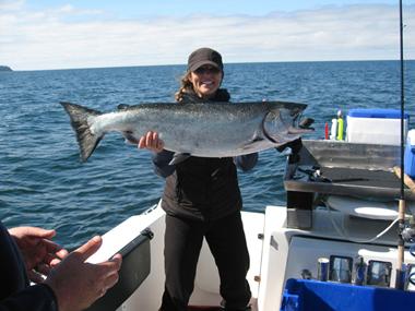 Big blue charters sitka alaska 2012 salmon halibut for Sitka alaska fishing charters