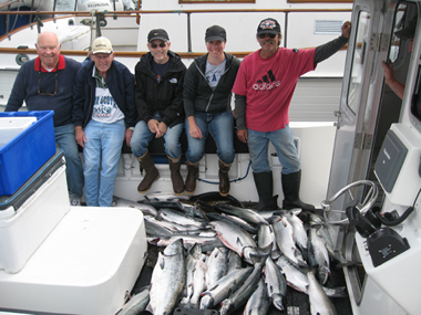Toft and Quinn - Fishing in Alaska with Big Blue Charters