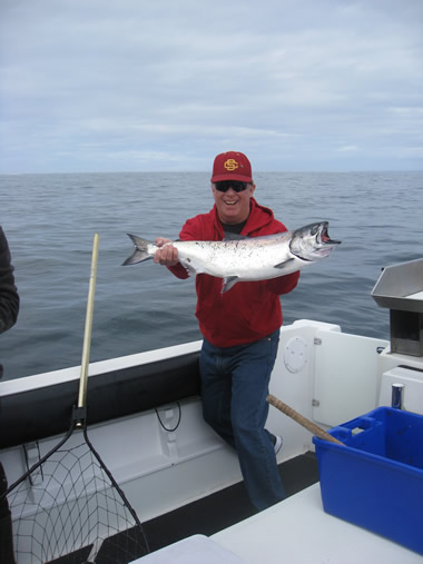 George Reyes - Big Blue Charters Alaska Fishing