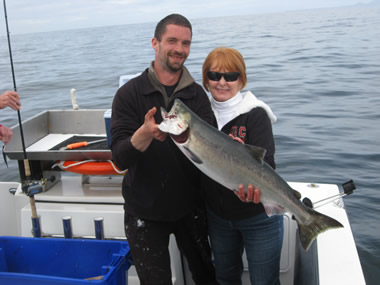 June 2013 Fishing with Big Blue Charters Alaska