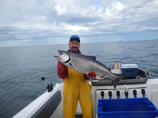 Big blue charters sitka alaska 2014 salmon halibut for Sitka alaska fishing charters