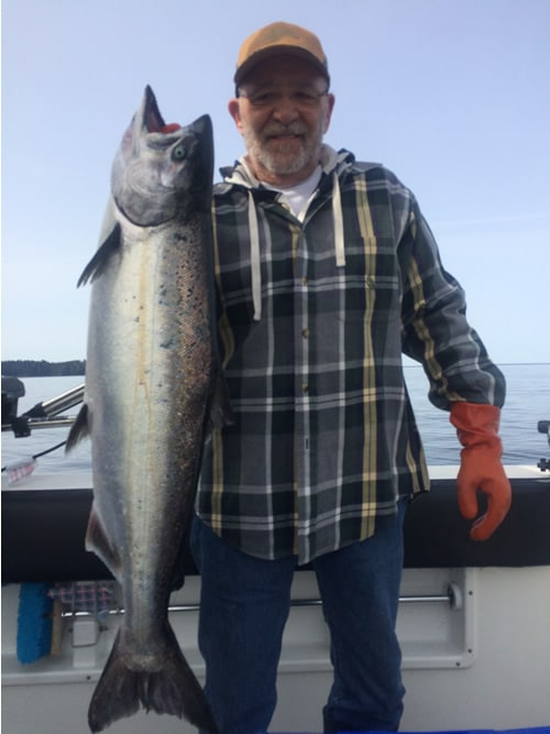 Danny's First King Salmon May 28th