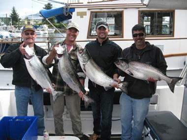 Stirret - Alaska Salmon and Halibut Fishing - Sitka